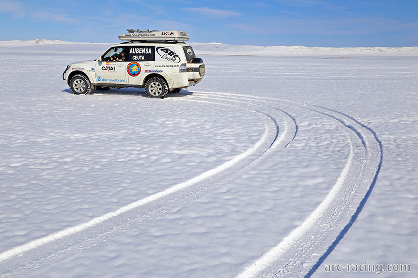 Foto Ruta Gengis Khan: Mitsubishi Montero ARC-Racing Expedition
